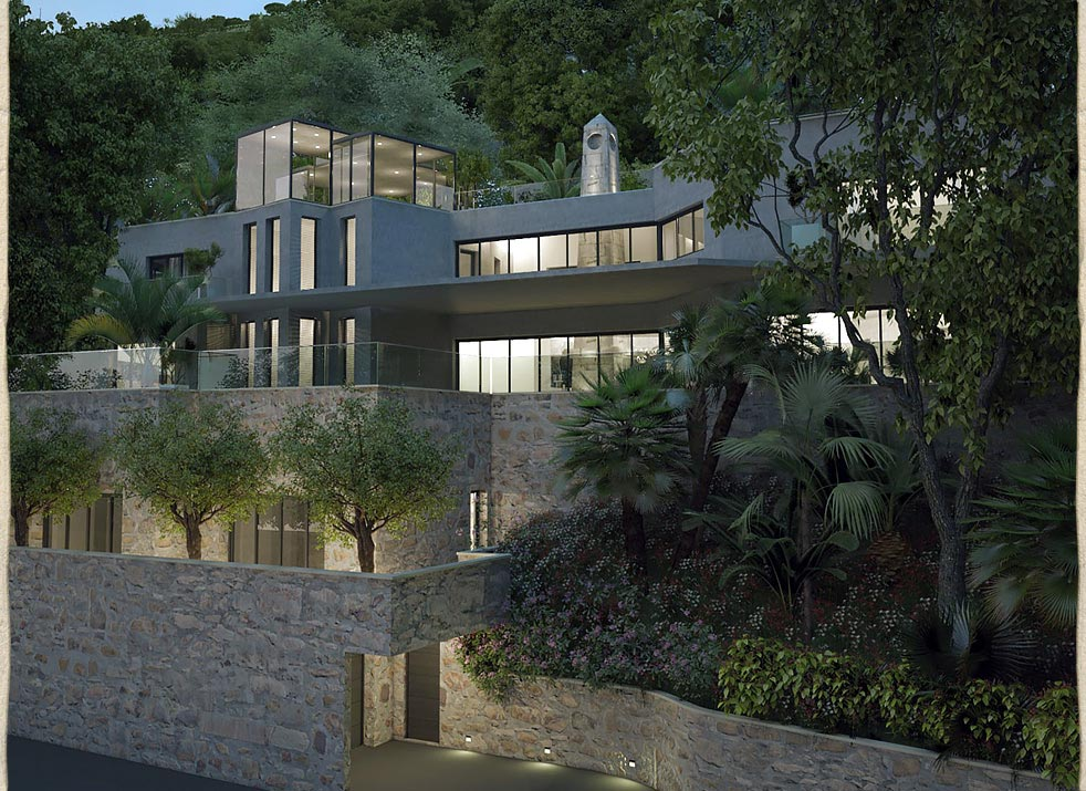 New Build, Contemporary House Gibraltar