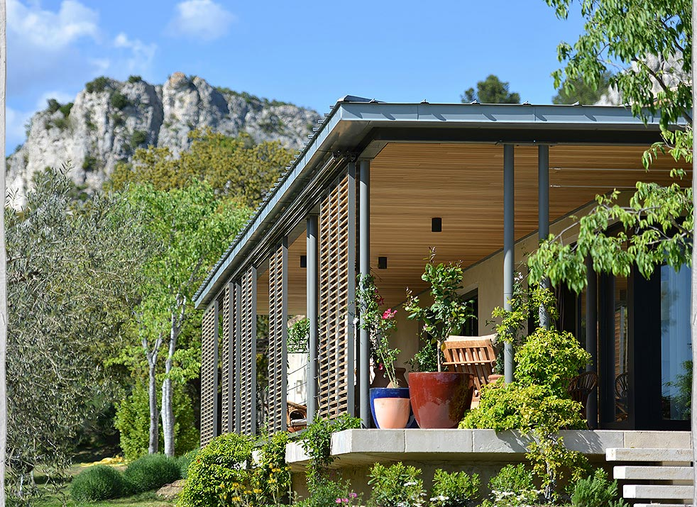 Renovations, Contemporary House, Les Baux